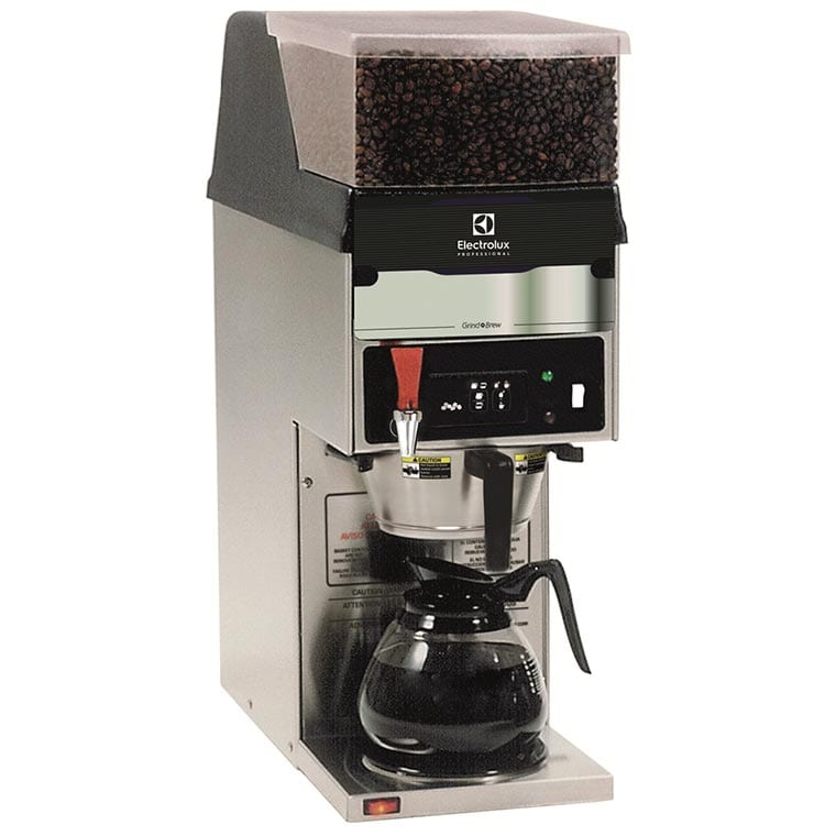 electrolux grind and brew system