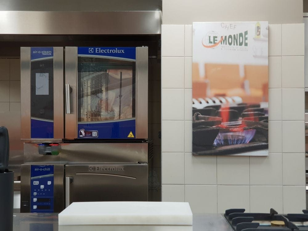 Hands on lab le monde institute greece electrolux oven and blast chiller