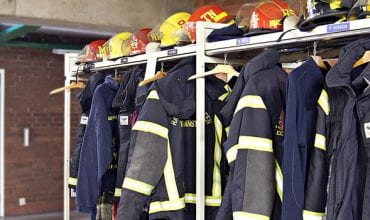 Electrolux Professional and Decontex for firefighters