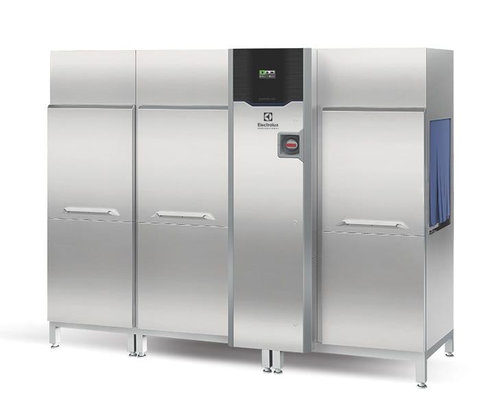 Multi rinse rack type dishwasher